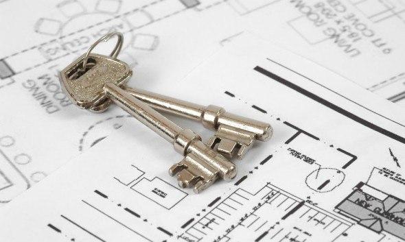 Ключи и документы на квартиру